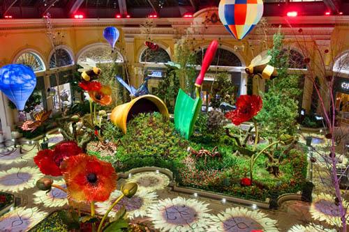 Casino Reviews Blog Archive Bellagio Conservatory Botanical Gardens Las Vegas Casino Reviews