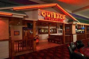 Outback Restaurant at Aquarius Casino