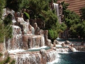Wynn Waterfalls