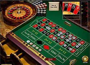 european roulette in vegas casino