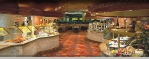 Breakfast buffet Beau Rivage casino