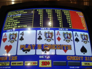 Do casinos change video poker odds?